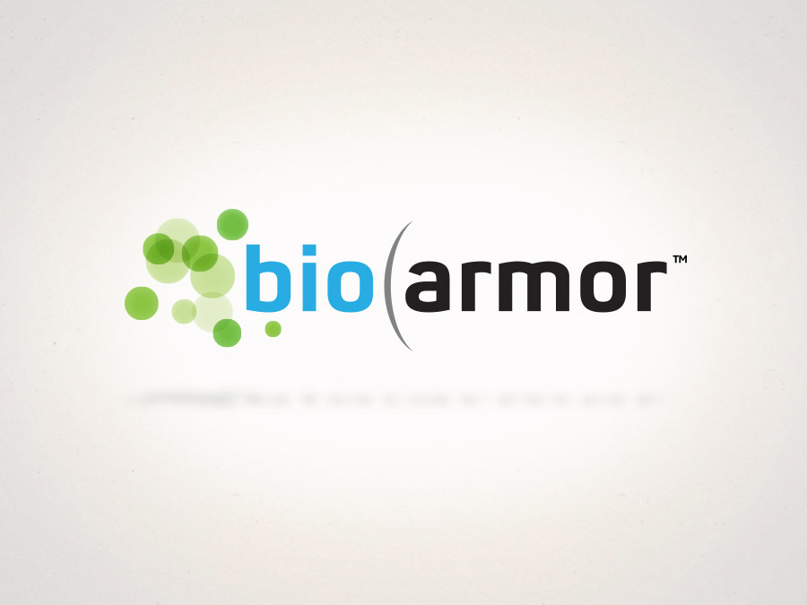 OrangeBall Creative - BioArmor logo design