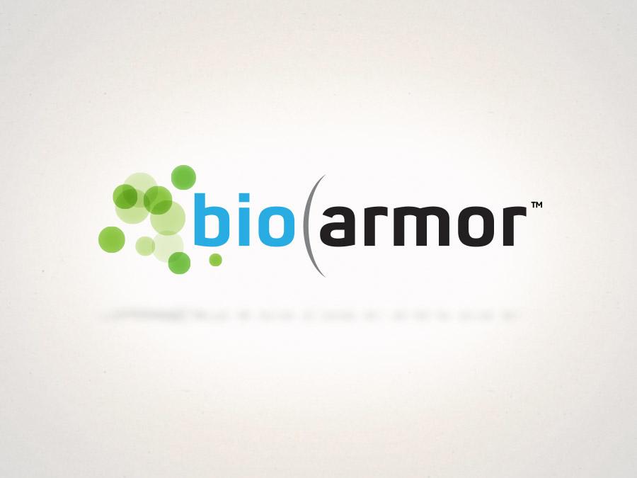 OrangeBall Creative - BioArmor logo design