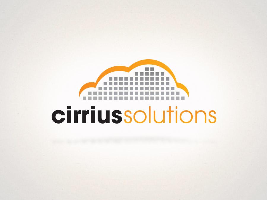 OrangeBall Creative - Cirrius Solutions logo design