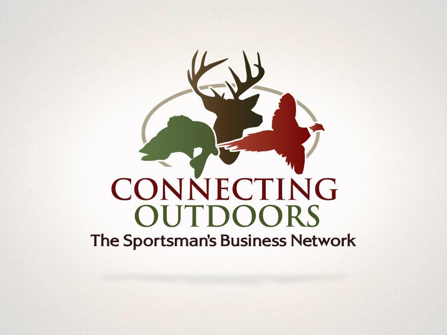 OrangeBall Creative - Connecting Outdoors logo design
