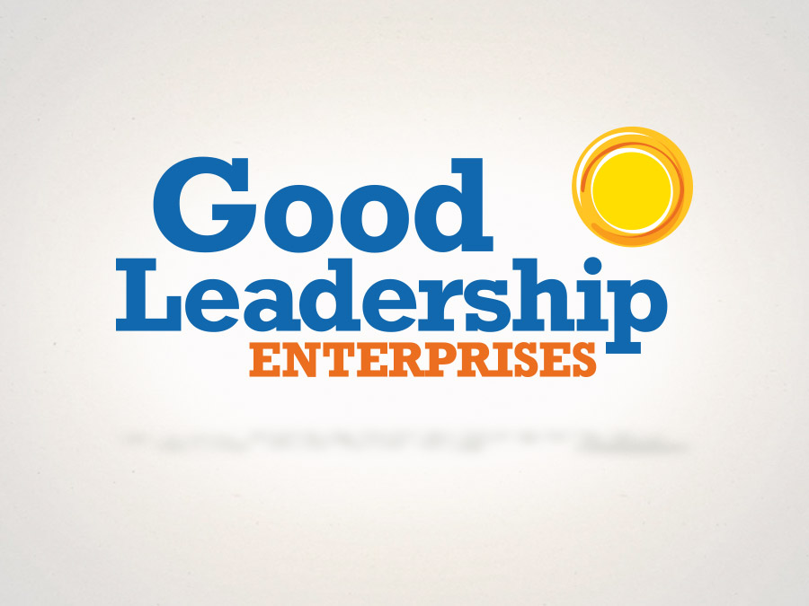OrangeBall Creative - Good Leadership Enterprises logo design