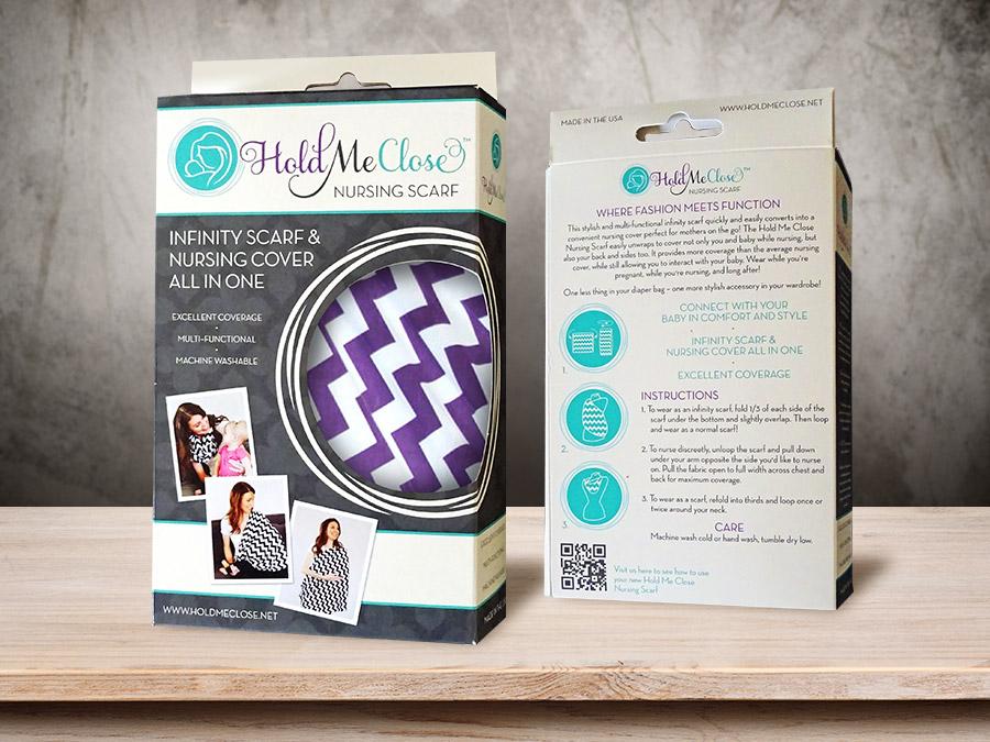 OrangeBall Creative - Hold Me Close package design