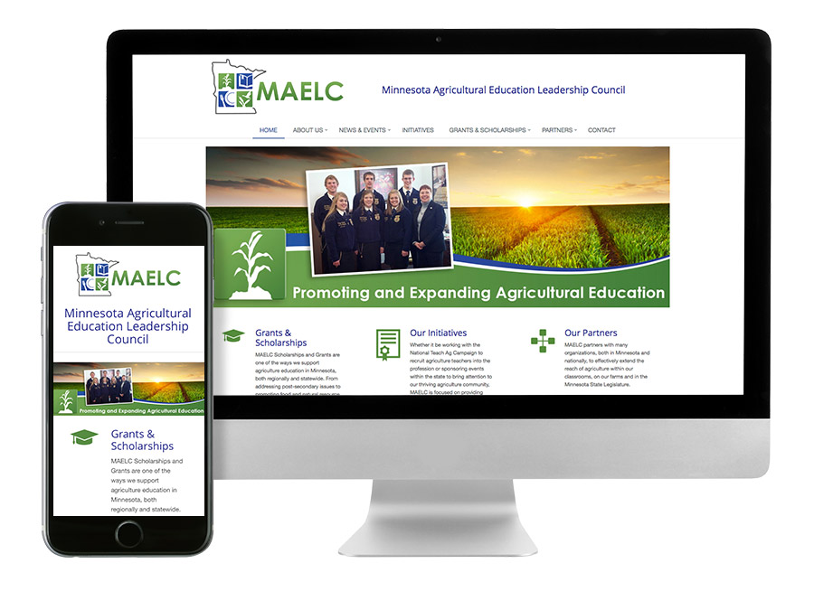 OrangeBall Creative - MAELC responsive website