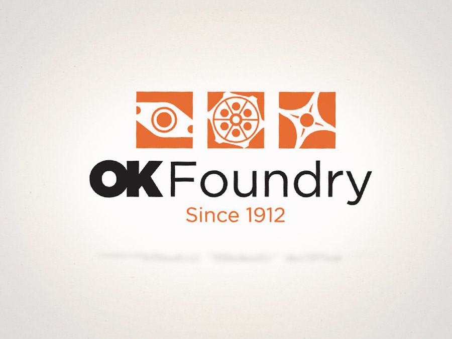 OrangeBall Creative - Logo Design OK Foundry