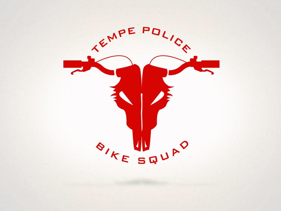 OrangeBall Creative - Logo Design Tempe Police