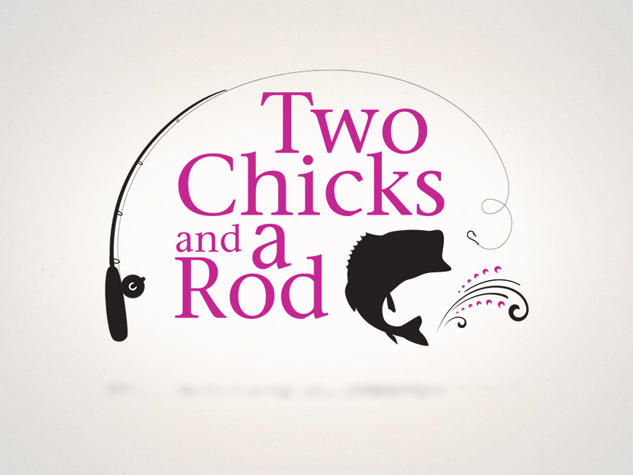 OrangeBall Creative - Logo Design Two Chicks and a Rod