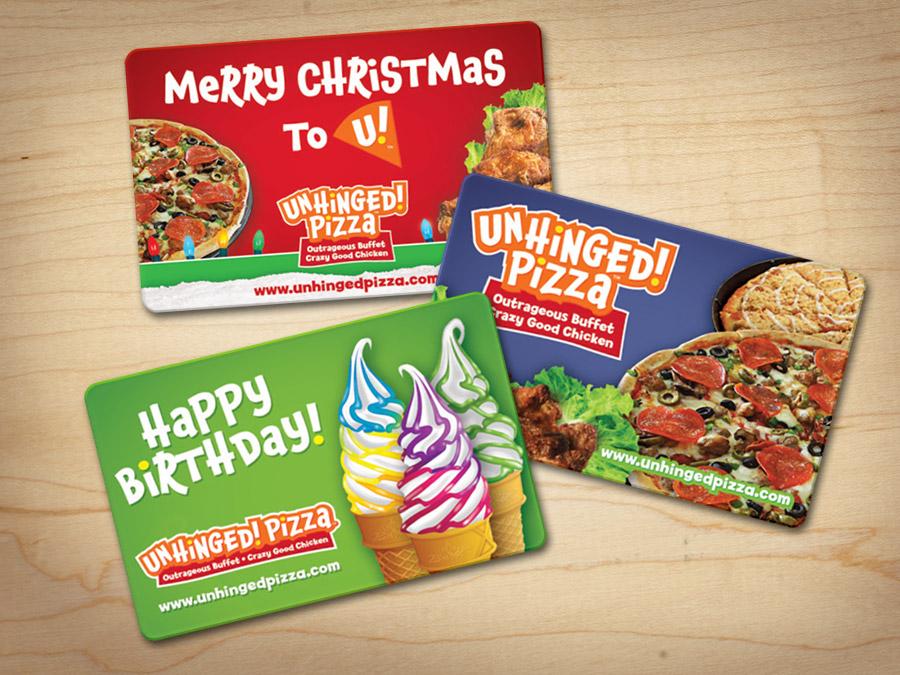 OrangeBall Creative - Print and Web Design Unhinged Pizza