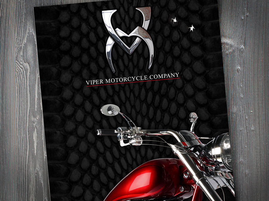 OrangeBall Creative - Print Design Viper Motorcycles