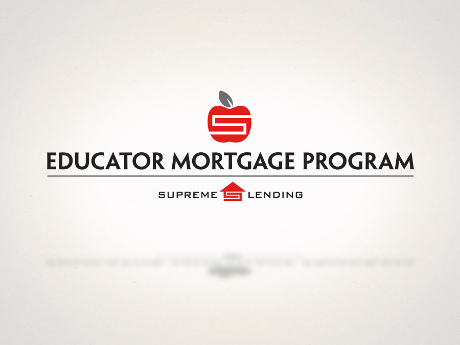 OrangeBall Creative - Branding and Logo Design Educator Mortgage