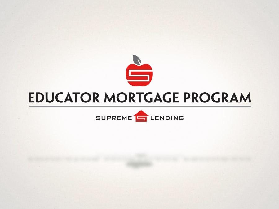 OrangeBall Creative - Branding and Logo Design Educator Mortgage
