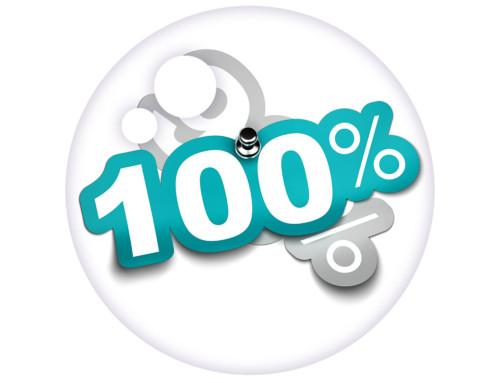 100% Not 99%